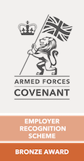 Armed Forces Covenant Employer Recognition Scheme: Bronze Award
